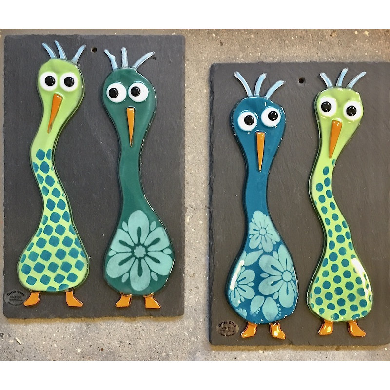 crazy birds glasbillede