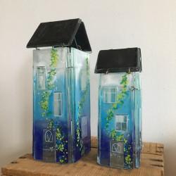 glashuse til lyskæde