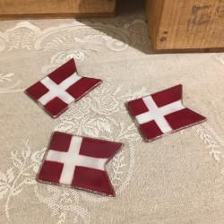 3 Glasflag til bordpynt