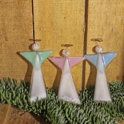 Små engle med perler - pastelfarvet