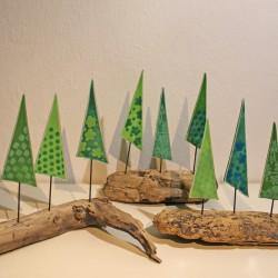 Juletræer i drivtømmer 1