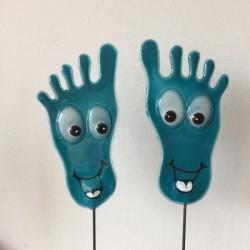 glade fødder tyrkis