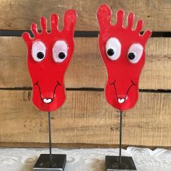 happy feet glaskunst