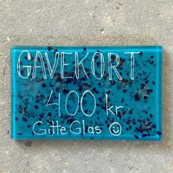 gavekort i glas 400