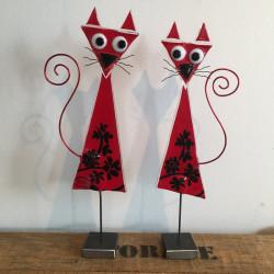 røde glaskatte