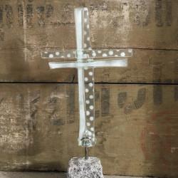 glaskunst kors